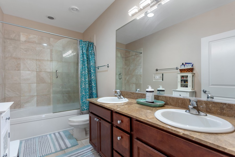 Real Estate Photography - 3300 W Irving Park, #G3, Chicago, IL, 60618 - Master Bathroom