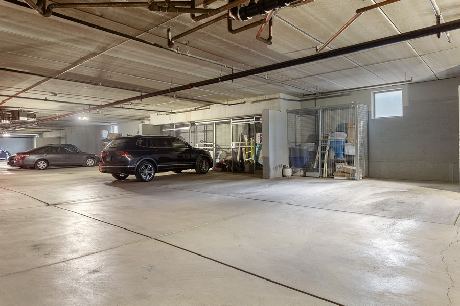 Real Estate Photography - 3300 W Irving Park, #G3, Chicago, IL, 60618 - Parking Garage
