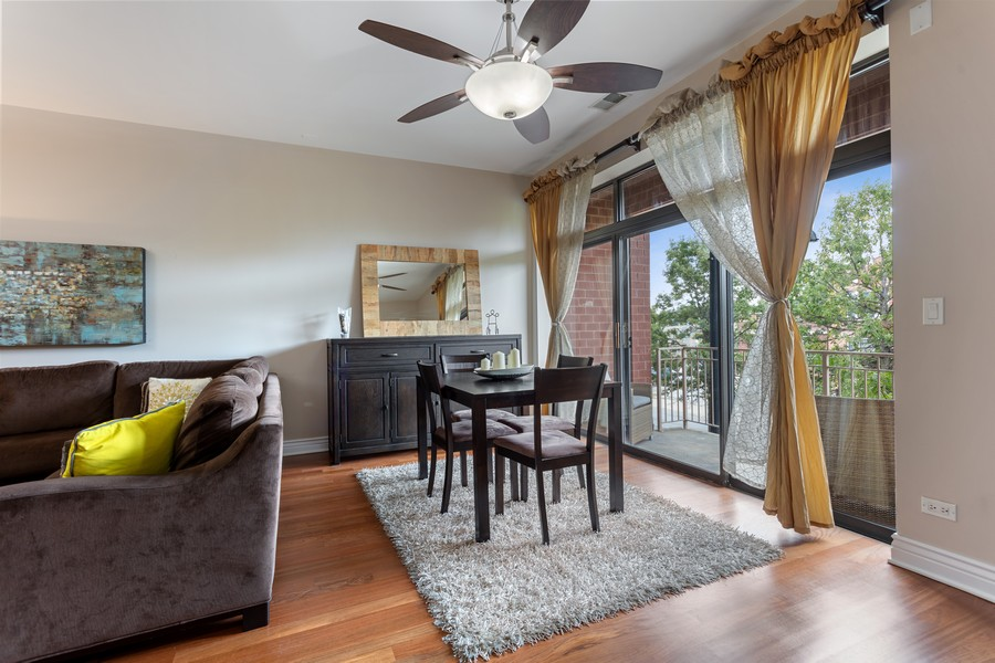 Real Estate Photography - 3300 W Irving Park, #G3, Chicago, IL, 60618 - Dining Area 2
