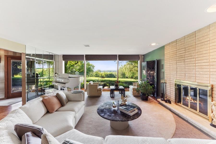 Real Estate Photography - 126 Brinker, Barrington Hills, IL, 60010 - Living Room
