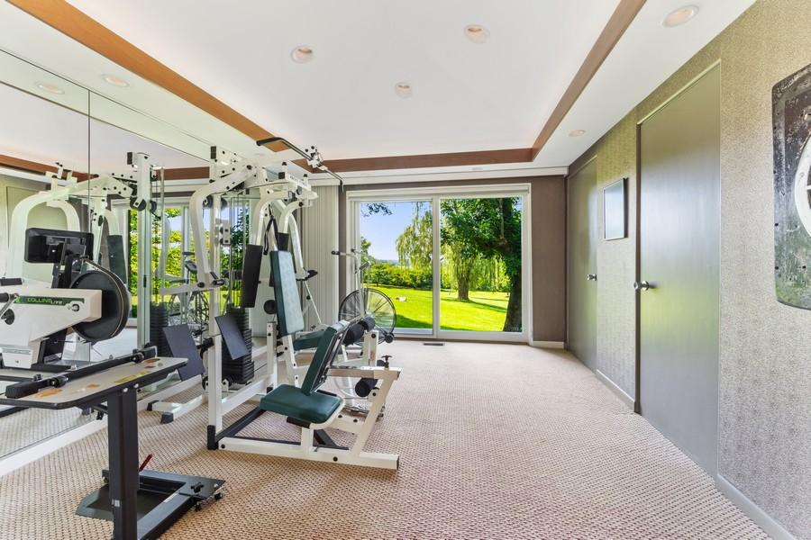 Real Estate Photography - 126 Brinker, Barrington Hills, IL, 60010 - Master Bedroom