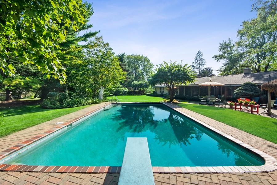 Real Estate Photography - 126 Brinker, Barrington Hills, IL, 60010 - Pool