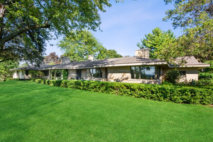 Real Estate Photography - 126 Brinker, Barrington Hills, IL, 60010 - Front View