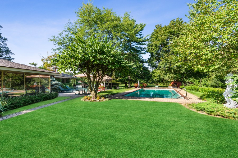 Real Estate Photography - 126 Brinker, Barrington Hills, IL, 60010 - Rear View