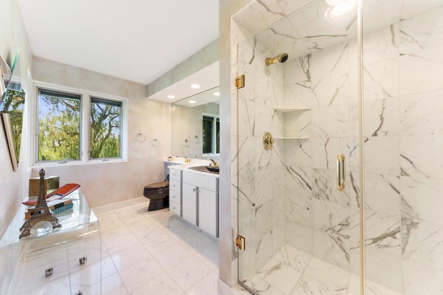 Real Estate Photography - 126 Brinker, Barrington Hills, IL, 60010 - 2nd Bathroom