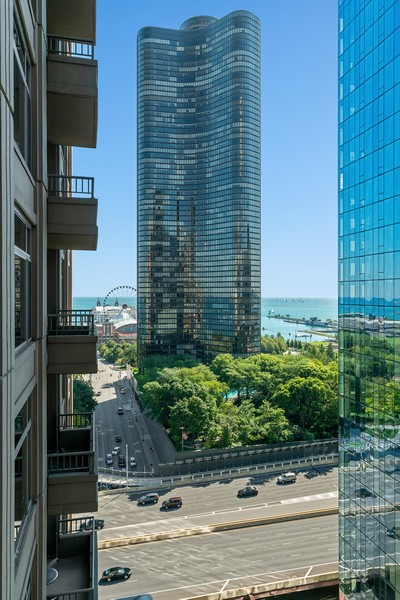 Real Estate Photography - 530 N Lake Shore Dr, 1708, Chicago, IL, 60611 - View