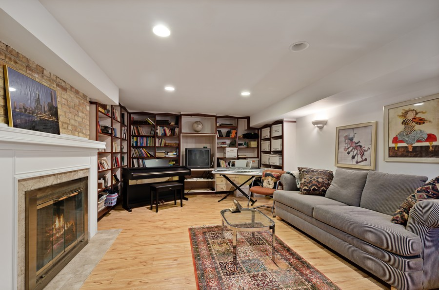 Real Estate Photography - 9301 Ridgeway Ave, Evanston, IL, 60203 - Recreational Room