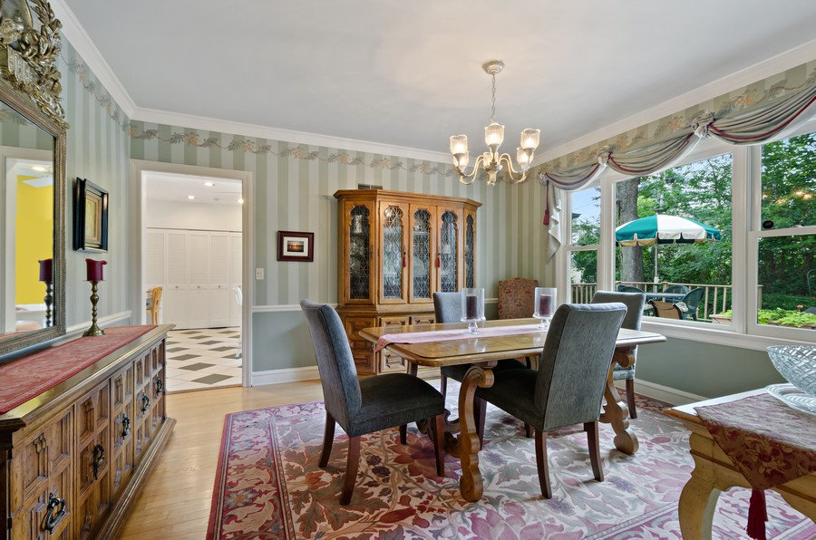 Real Estate Photography - 9301 Ridgeway Ave, Evanston, IL, 60203 - Dining Room