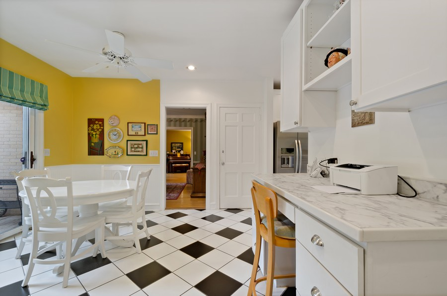 Real Estate Photography - 9301 Ridgeway Ave, Evanston, IL, 60203 - Breakfast Area