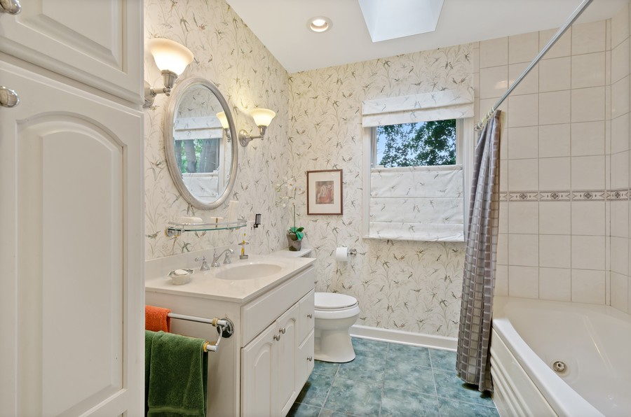 Real Estate Photography - 9301 Ridgeway Ave, Evanston, IL, 60203 - 2nd Bathroom