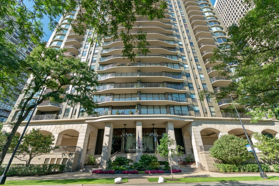 Real Estate Photography - 1040 N Lake Shore Dr, 36BC, Chicago, IL, 60614 - Front View