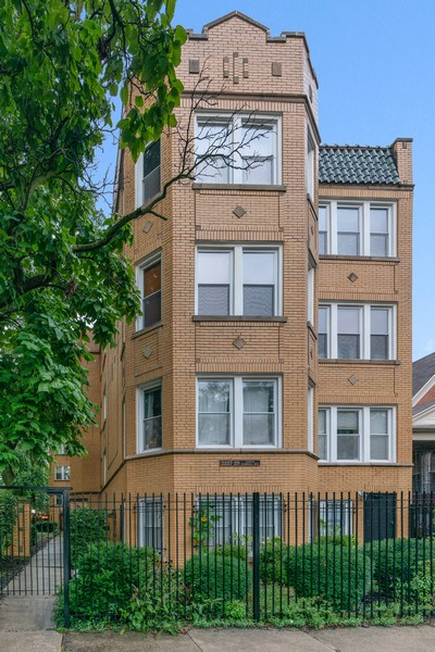 Real Estate Photography - 2227 N Kimball, #2E, Chicago, IL, 60647 - Front View