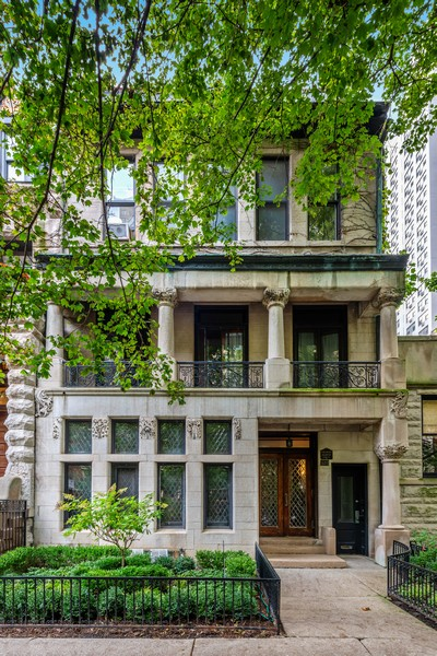 Real Estate Photography - 1436 N Astor St, Chicago, IL, 60611 - Front View