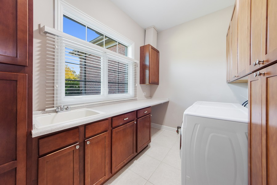 Real Estate Photography - 124 Cranberry Ct, Lake Barrington, IL, 60010 - Laundry Room
