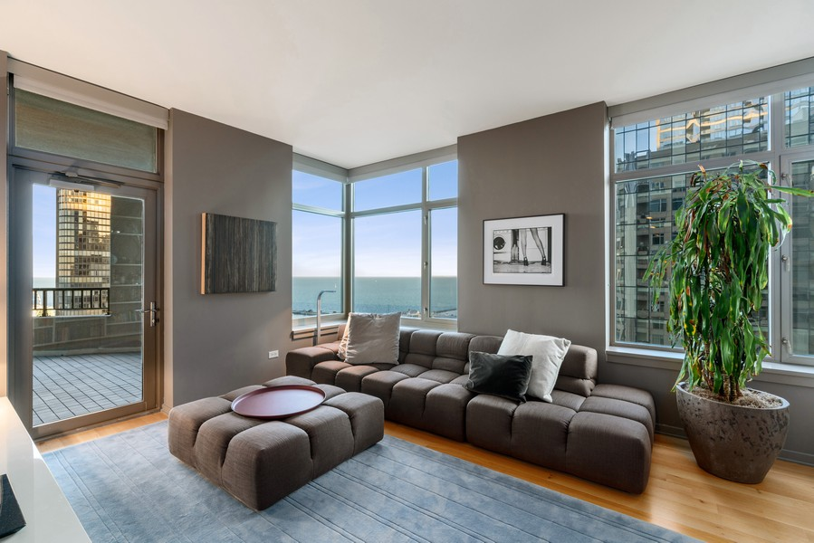 Real Estate Photography - 530 N Lake Shore Dr, unit 2305, Chicago, IL, 60611 - 2nd Bedroom
