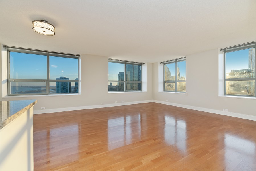 Real Estate Photography - 474 N Lake Shore Dr, 5108, Chicago, IL, 60611 - Living Room