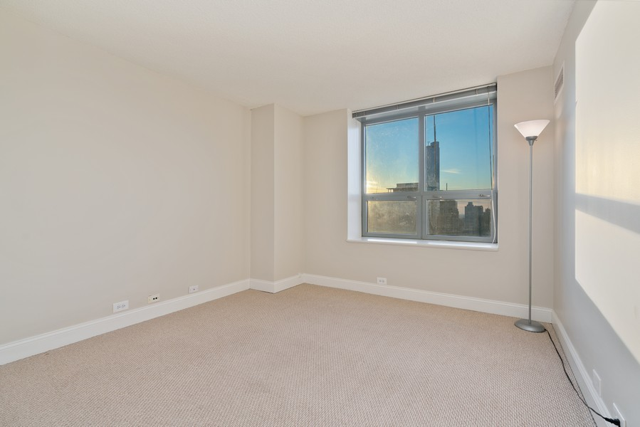 Real Estate Photography - 474 N Lake Shore Dr, 5108, Chicago, IL, 60611 - 3rd Bedroom