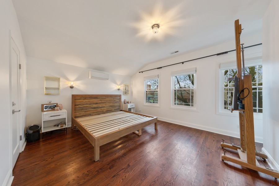 Real Estate Photography - 3537 Hoyne, Chicago, IL, 60657 - Master Bedroom