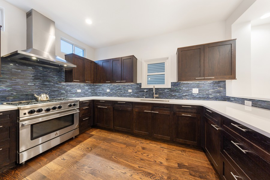 Real Estate Photography - 3537 Hoyne, Chicago, IL, 60657 - Kitchen