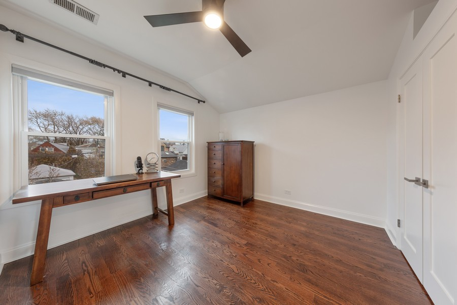 Real Estate Photography - 3537 Hoyne, Chicago, IL, 60657 - Bedroom