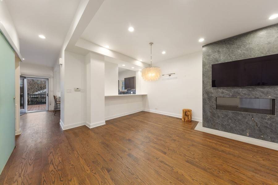 Real Estate Photography - 3537 Hoyne, Chicago, IL, 60657 - Dining Room