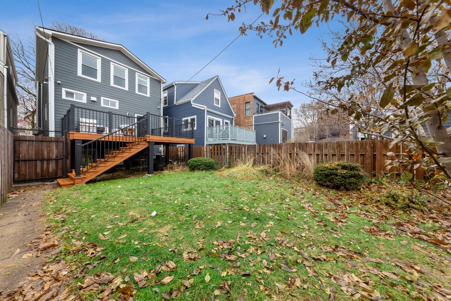 Real Estate Photography - 3537 Hoyne, Chicago, IL, 60657 - Back Yard