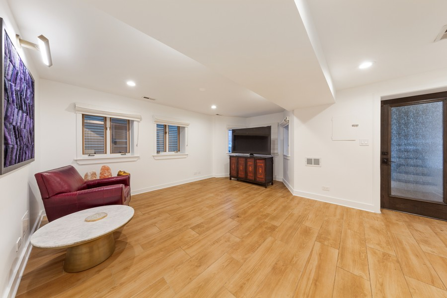 Real Estate Photography - 3537 Hoyne, Chicago, IL, 60657 - Family Room