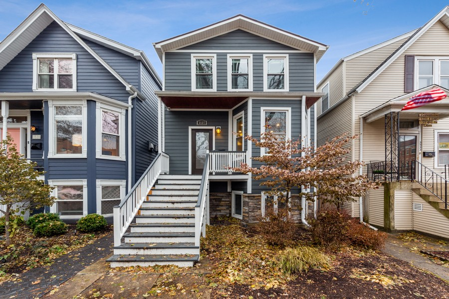Real Estate Photography - 3537 Hoyne, Chicago, IL, 60657 - Front View