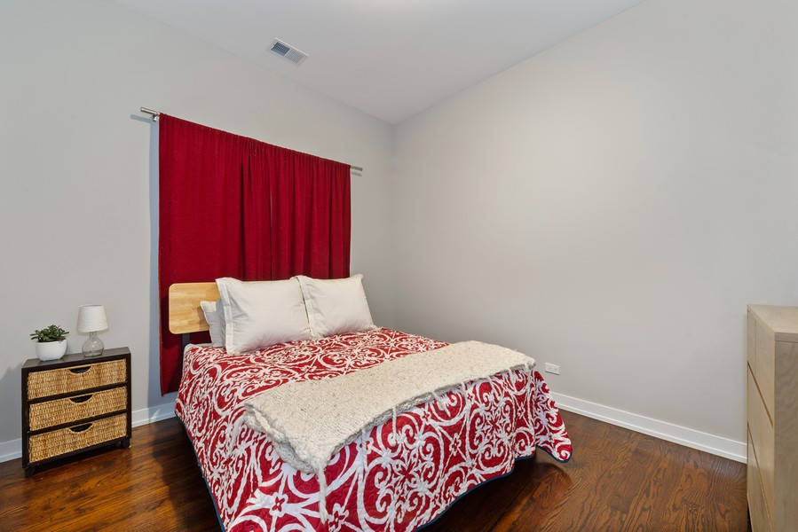 Real Estate Photography - 2495 N Milwaukee Ave., Unit 2S, Chicago, IL, 60647 - 2nd Bedroom