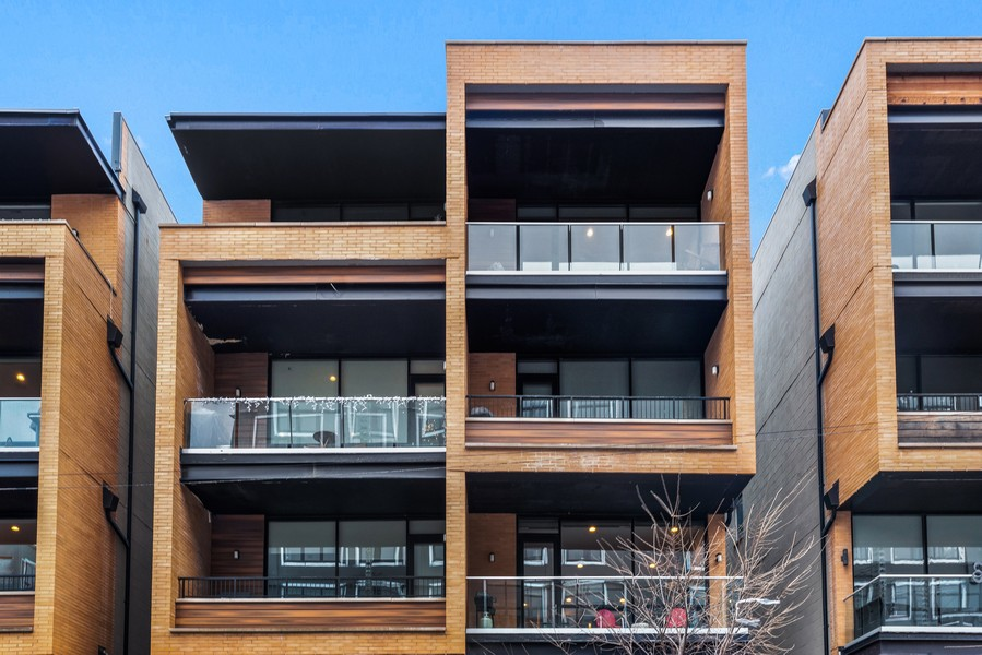 Real Estate Photography - 2495 N Milwaukee Ave., Unit 2S, Chicago, IL, 60647 - Front View