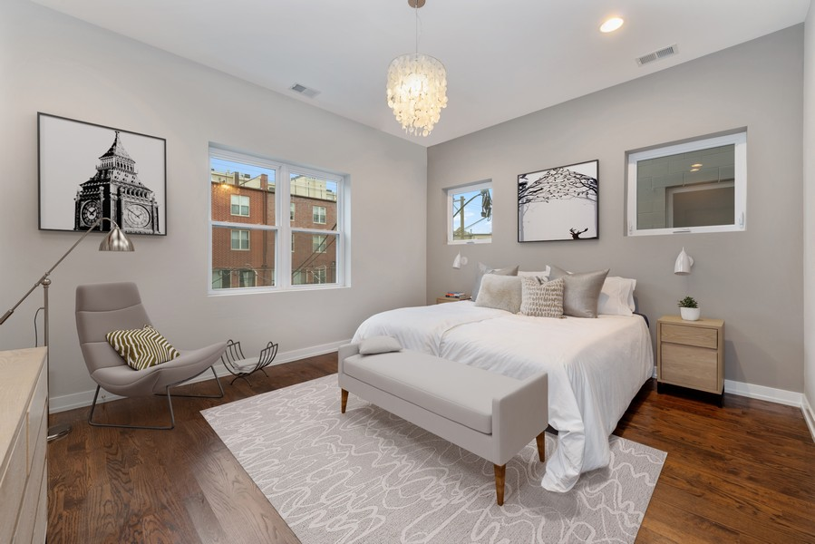 Real Estate Photography - 2495 N Milwaukee Ave., Unit 2S, Chicago, IL, 60647 -