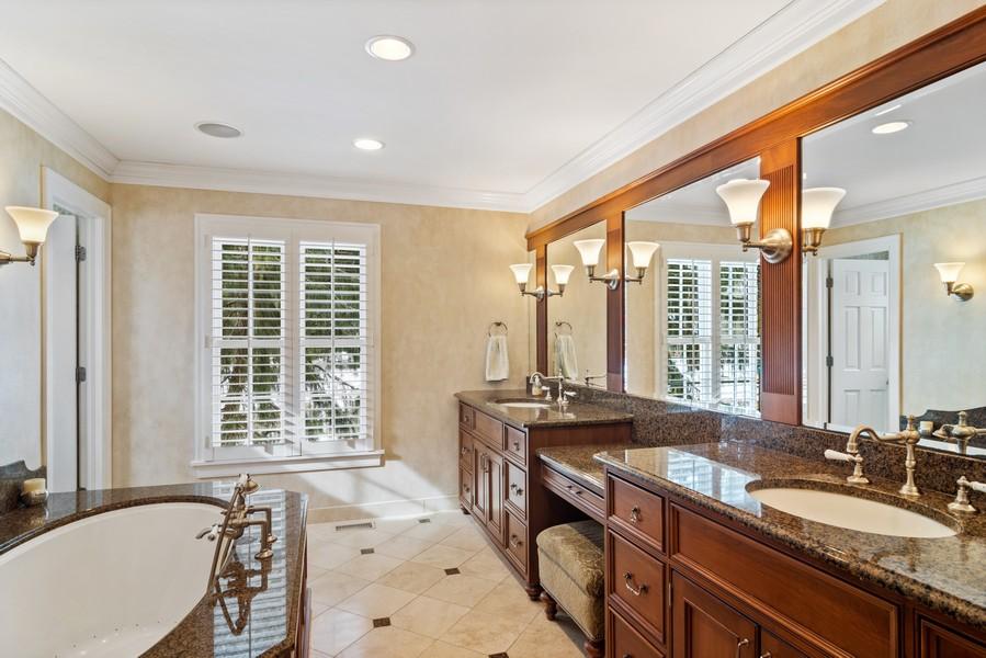 Real Estate Photography - 366 S Bateman Circle, Barrington Hills, IL, 60010 - Master Bathroom