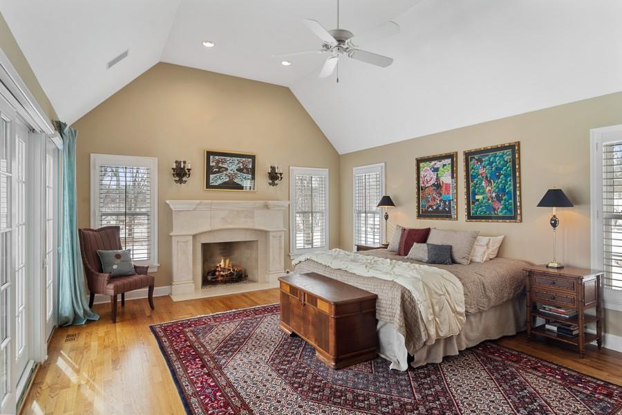Real Estate Photography - 366 S Bateman Circle, Barrington Hills, IL, 60010 - Master Bedroom
