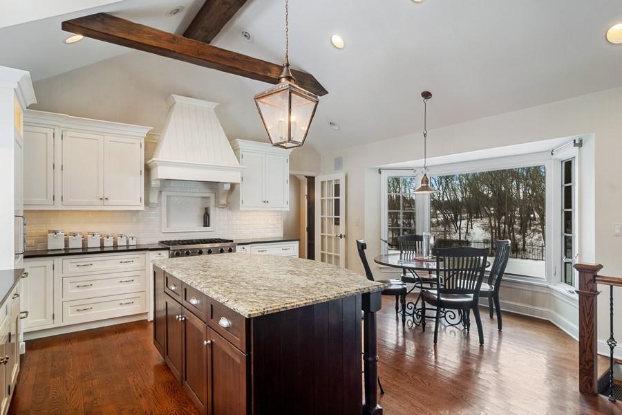 Real Estate Photography - 366 S Bateman Circle, Barrington Hills, IL, 60010 - Kitchen / Breakfast Room