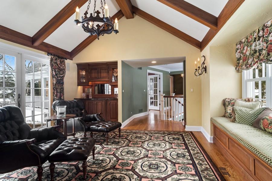 Real Estate Photography - 366 S Bateman Circle, Barrington Hills, IL, 60010 - Family Room