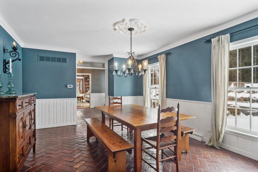 Real Estate Photography - 366 S Bateman Circle, Barrington Hills, IL, 60010 - Dining Area