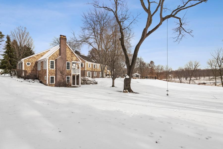 Real Estate Photography - 366 S Bateman Circle, Barrington Hills, IL, 60010 - Side View