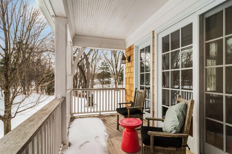 Real Estate Photography - 366 S Bateman Circle, Barrington Hills, IL, 60010 - Porch