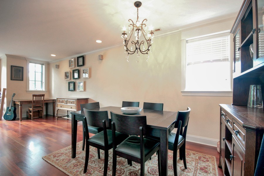 Real Estate Photography - 643 W Wellington, 4, Chicago, IL, 60657 - Dining Room