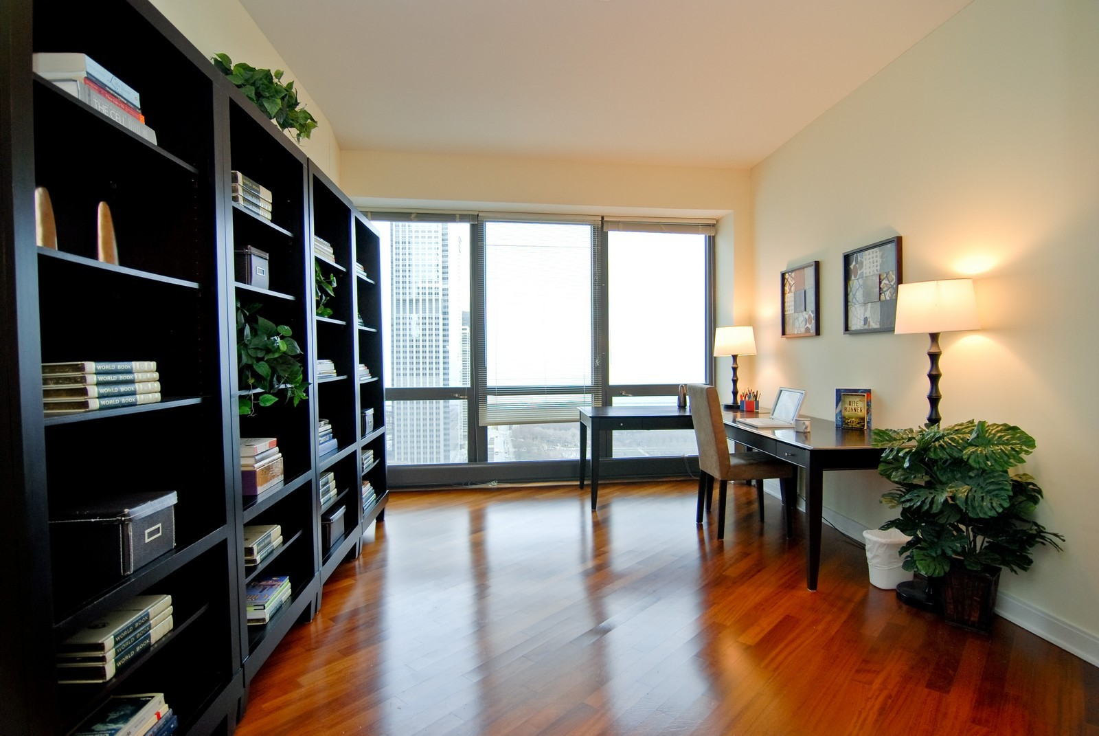 Real Estate Photography - 130 N. Garland Ct., 2903, Chicago, IL, 60602 - 2nd Bedroom