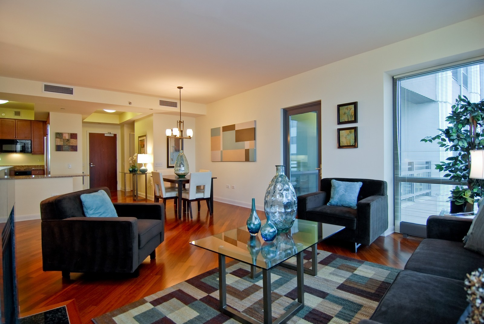 Real Estate Photography - 130 N. Garland Ct., 2903, Chicago, IL, 60602 - Living Room