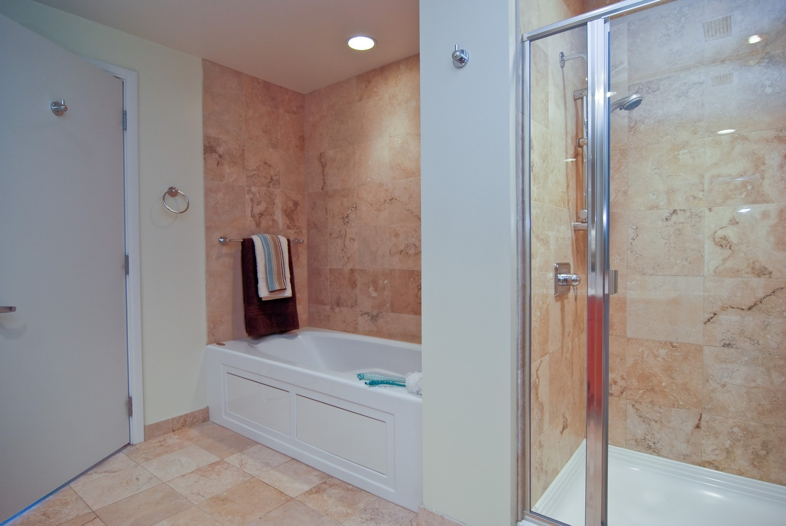 Real Estate Photography - 130 N. Garland Ct., 2903, Chicago, IL, 60602 - Master Bathroom
