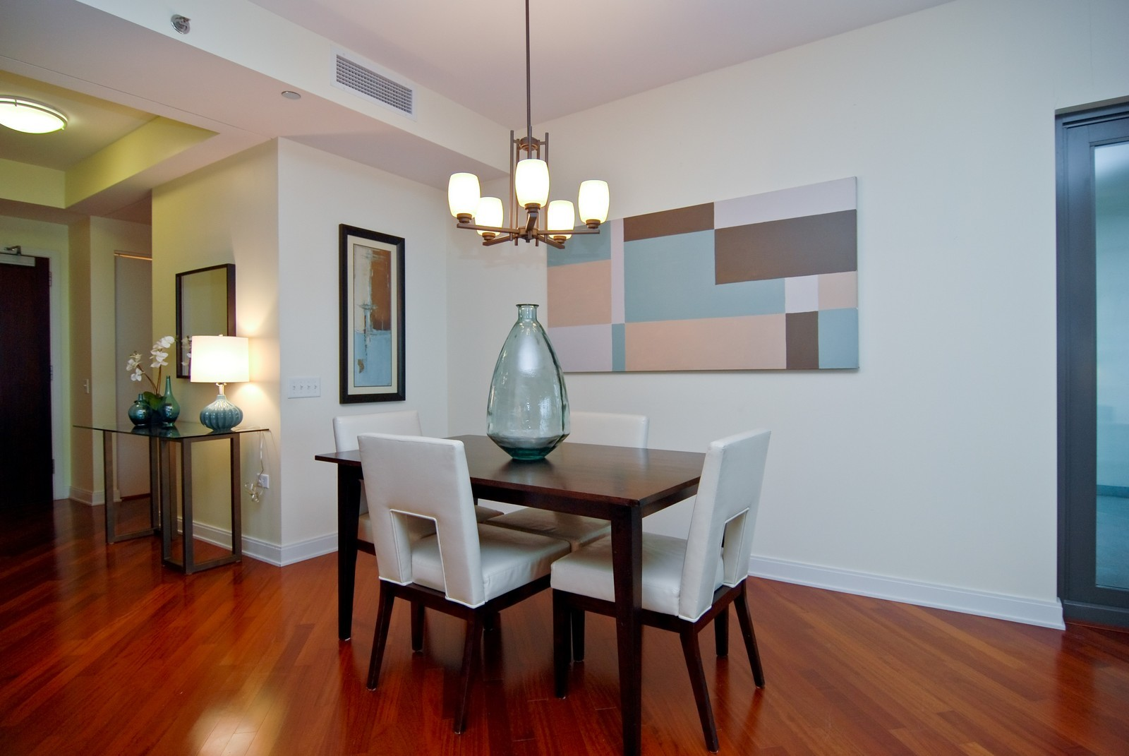 Real Estate Photography - 130 N. Garland Ct., 2903, Chicago, IL, 60602 - Dining Room