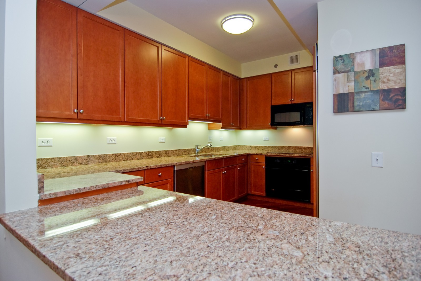 Real Estate Photography - 130 N. Garland Ct., 2903, Chicago, IL, 60602 - Kitchen