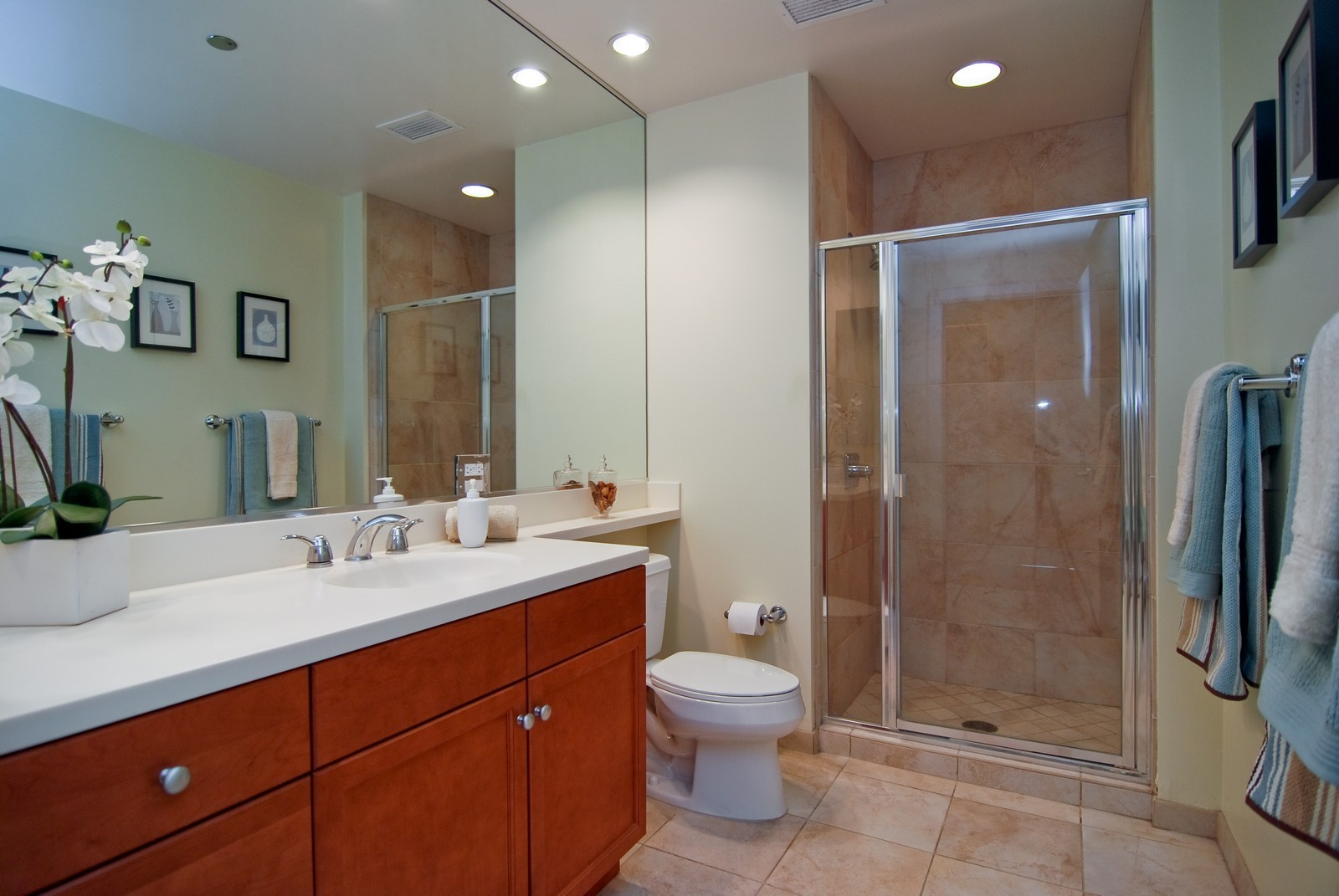 Real Estate Photography - 130 N. Garland Ct., 2903, Chicago, IL, 60602 - Bathroom