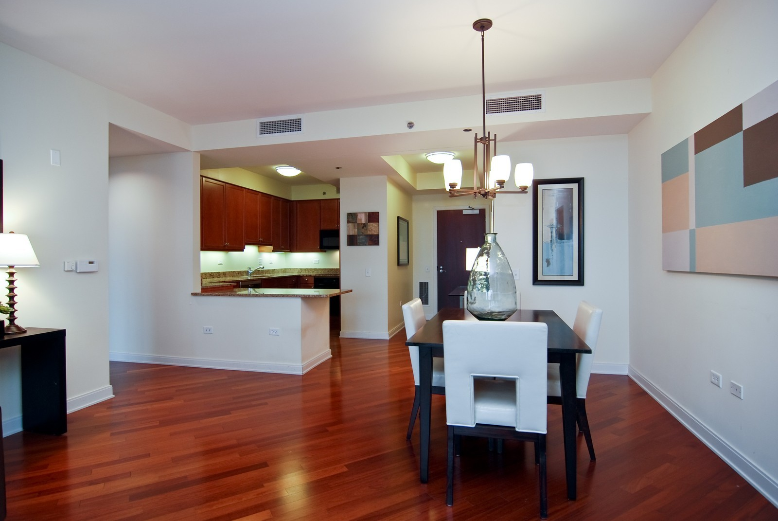Real Estate Photography - 130 N. Garland Ct., 2903, Chicago, IL, 60602 - Kitchen / Dining Room