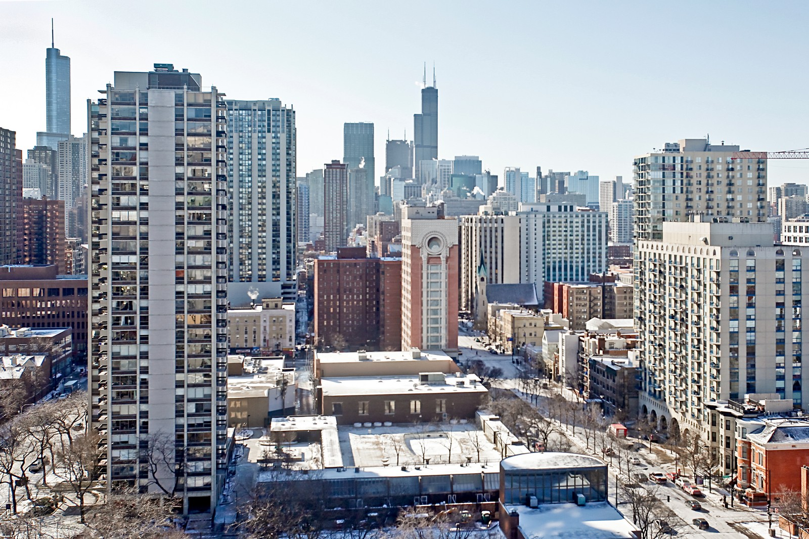 Real Estate Photography - 1360 Sandburg, 2103, Chicago, IL, 60610 - City View