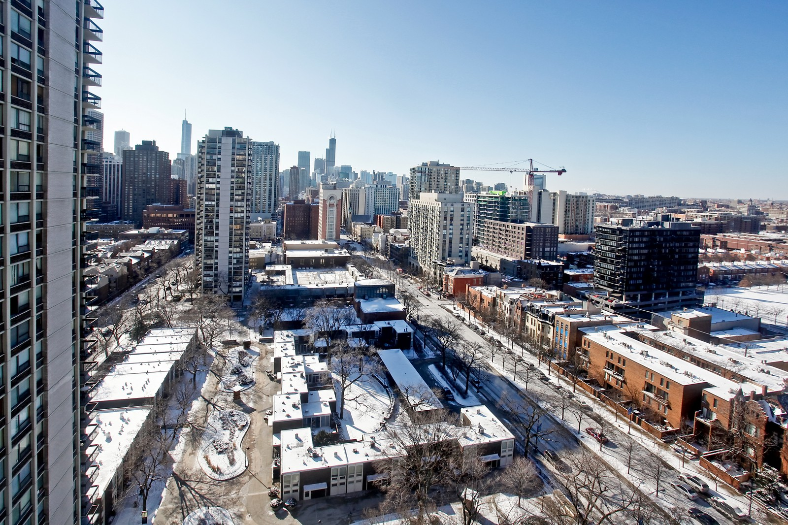 Real Estate Photography - 1360 Sandburg, 2103, Chicago, IL, 60610 - View
