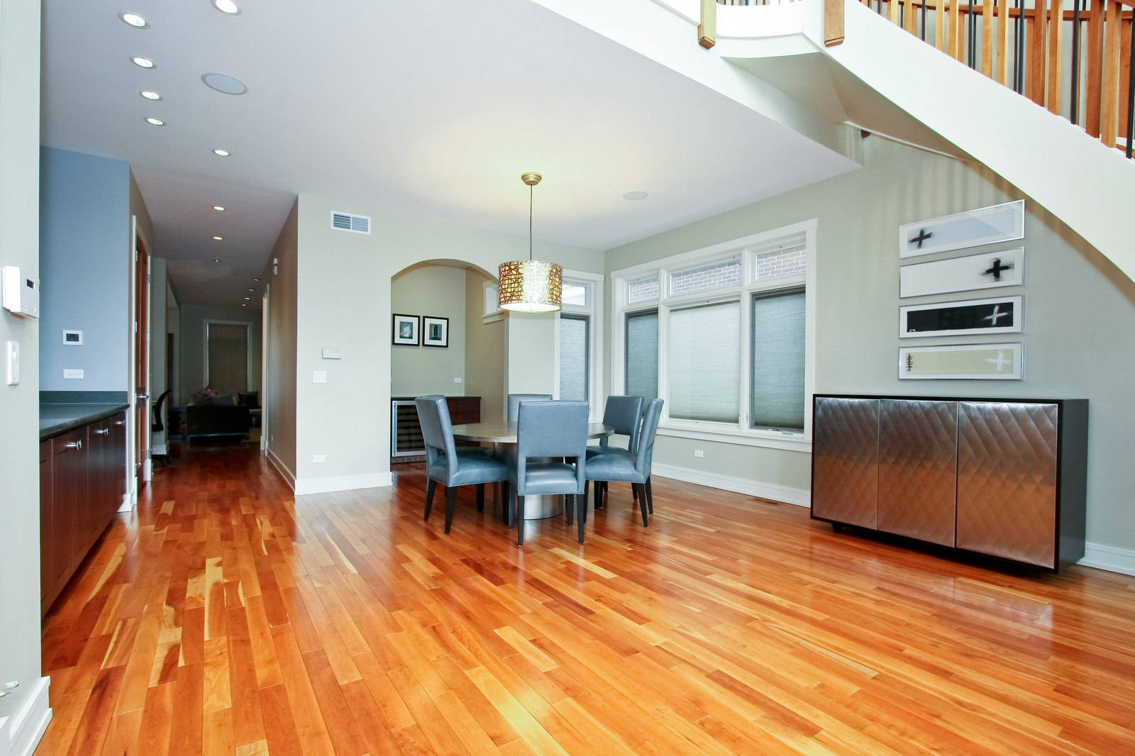 Real Estate Photography - 444 W. 38th Street, Chicago, IL, 60609 - Formal Dining / Great Room