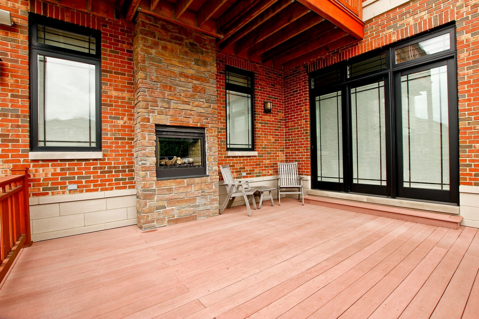 Real Estate Photography - 444 W. 38th Street, Chicago, IL, 60609 - Rear View